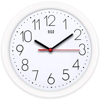 hito Silent Wall Clock Non ticking 10 inch Excellent Accurate Sweep Movement