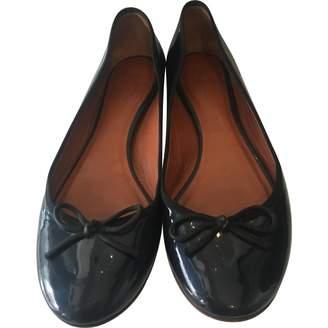 Celine Navy Patent leather Ballet flats