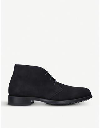 Kurt Geiger London Balfour lace-up suede desert boots