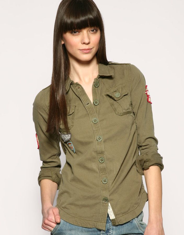 Superdry Army Shirt