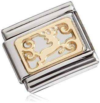 Nomination Composable Classic Mixed Laender Partially Gold-Plated Stainless Steel Unisex 03014514 tXqMvP1xF