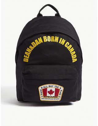 DSQUARED2 Motif backpack