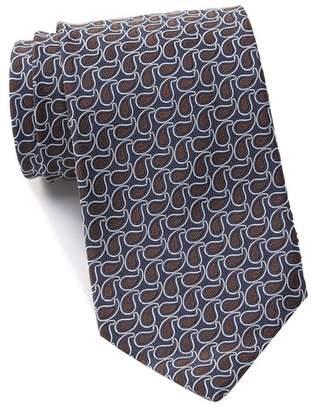 Ermenegildo Zegna Silk Paisley Tie