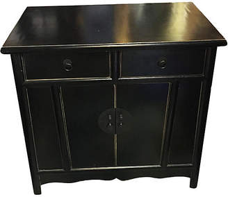 One Kings Lane Vintage Superb Beijing Asian Black Lacquer Chest