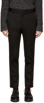 Stella McCartney Black Contrast Stripe Trousers