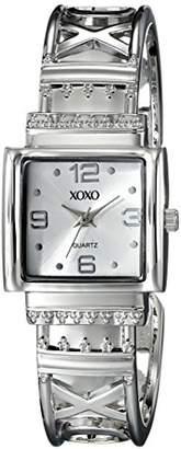 XOXO Women's XO1086 Dial -tone Bangle Watch