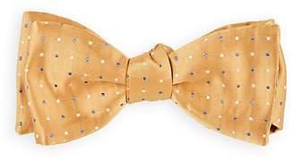 Barneys New York Men's Dotted Silk Twill Bow Tie