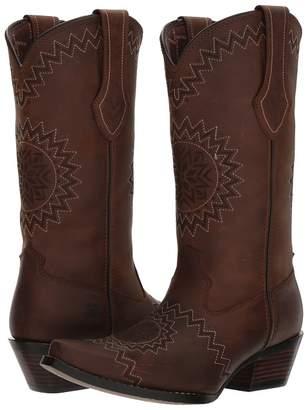 Durango Crush 12 Laser Etch Cowboy Boots