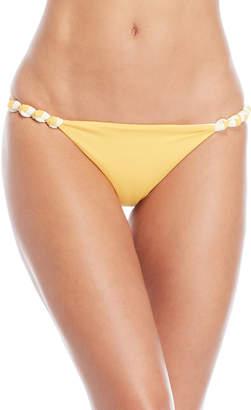 Vix Paula Hermanny Solid Knotted Bikini Bottom