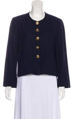 Sonia Rykiel Scoop Neck Casual Jacket