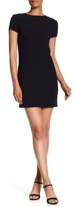 Helmut Lang Short Sleeve Square Back Dress