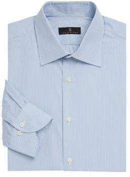 Ike Behar Contemporary-Fit Stripe Dress Shirt