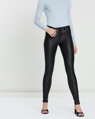 Vero Moda Seven NW Smooth Coated Trousers