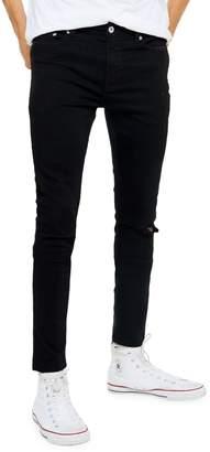 Topman Rueben Ripped Skinny Jeans