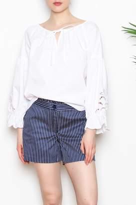 Jade Ruffle Trim Shorts