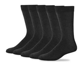 Dockers 5 Pack Classics Dress Flat Knit Crew