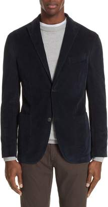 Boglioli Trim Fit Stretch Corduroy Cotton Sport Coat