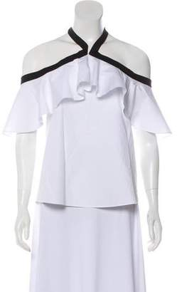 Alice McCall Off-the-Shoulder Short Sleeve Top