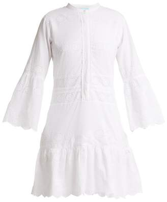 Melissa Odabash Abby Broderie Anglaise Cotton Dress - Womens - White