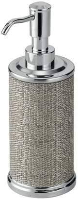 InterDesign Twillo Soap & Lotion Dispenser Pump, for Kitchen or Bathroom Countertops