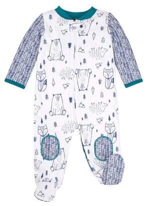 Lamaze Organic Cotton Sleep N' Play Pajamas (Newborn Baby Boys)