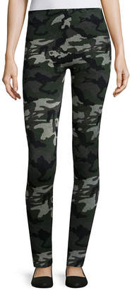 Gold Toe Camo Print Legging