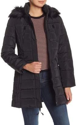 Nautica Faux Fur Trimmed Jacket