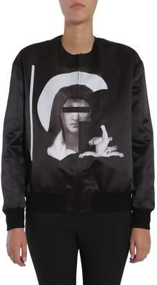 Givenchy Satin Bomber Jacket
