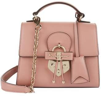 Salvatore Ferragamo Mini Letty Bow Cross Body Bag