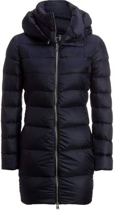 ADD White Goose Down Hooded Coat - Women's