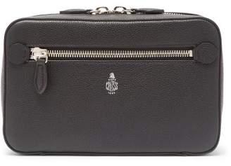 Mark Cross Baker Leather Belt Bag - Mens - Black