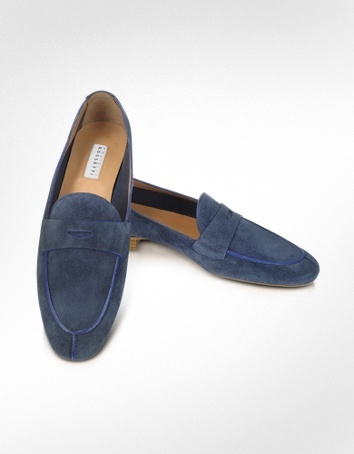 Fratelli Rossetti Azir - Blue Suede Loafer