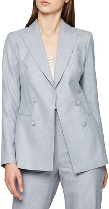 Reiss Essie Double Breasted Blazer
