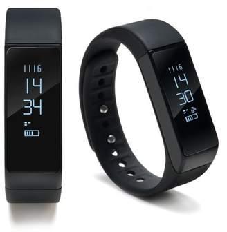 Agptek AGPtEK Waterproof Fitness Tracker Bracelet Smart Wrist Watch Band for iphone Android-Black