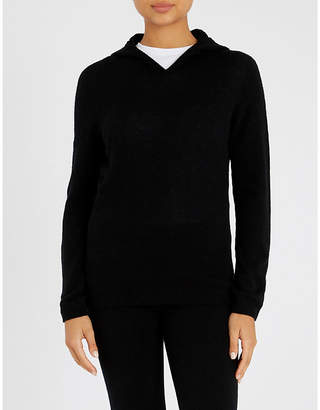 Johnstons Slim-fit cashmere hoody