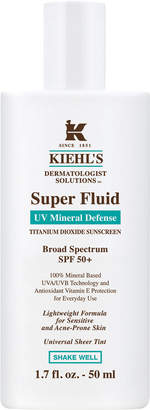 Kiehl's Dermatologist Solutions Super Fluid UV Mineral Defense Broad Spectrum SPF 50, 1.7 oz.