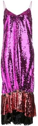 Sachin + Babi Maslak sequin slip dress