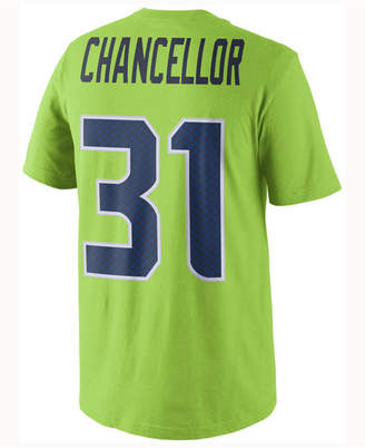Nike Men's Kam Chancellor Seattle Seahawks Color Rush Name & Number T-Shirt