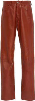 Philosophy di Lorenzo Serafini Leather Pants