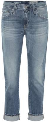 AG Jeans The Ex-Boyfriend Slim high-rise jeans
