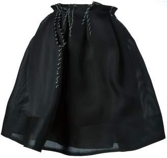Lanvin (ランバン) - Lanvin ステッチディテール プリーツスカート