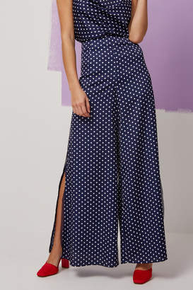 Finders Keepers WHISPER PANT navy spot