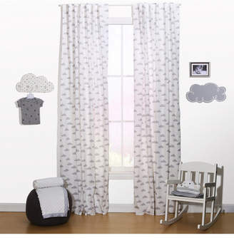 "The Peanut Shell The 42"" x 84"" Cloud Print Curtain Set Bedding"