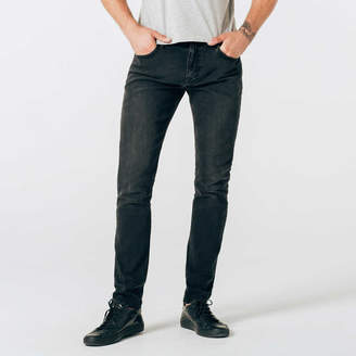 DSTLD Skinny Jeans in Black Worn