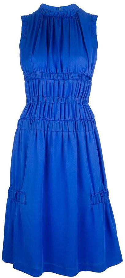 Christopher Kane sleeveless georgette dress