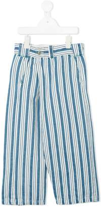 Go To Hollywood striped denim trousers