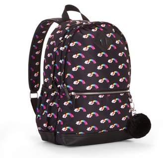 No Boundaries Black Rainbow Dome Backpack