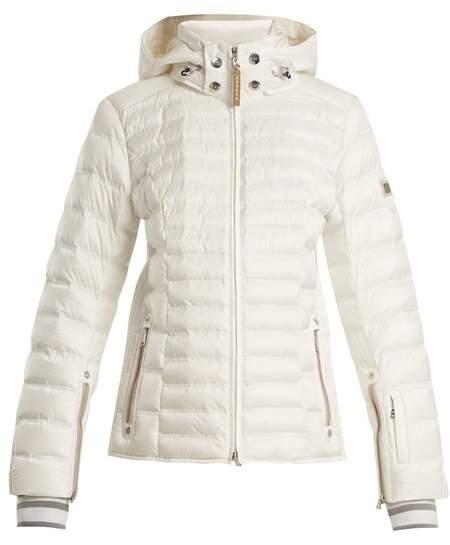 Nasha hooded quilted-down ski jacket