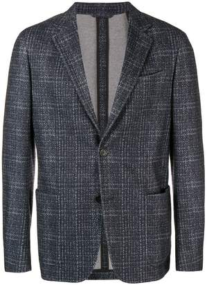 Ermenegildo Zegna checked printed jacket
