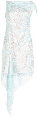 Peter Pilotto Lace Asymmetric Dress